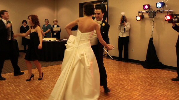David and Patricia did this fabulous dance to close their reception. Click the image to view the video. Full HD available if you wish to watch it in high def :)