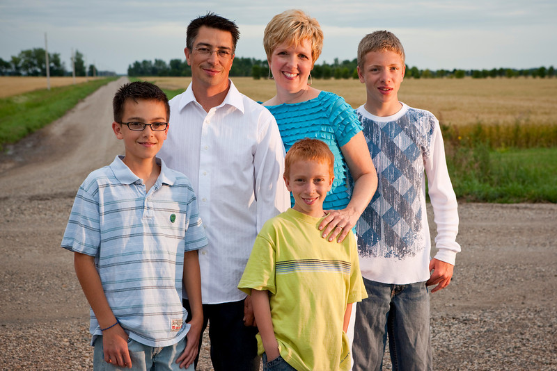 Family photos snatched out of the jaws of mosquitos new Stephen, MN.