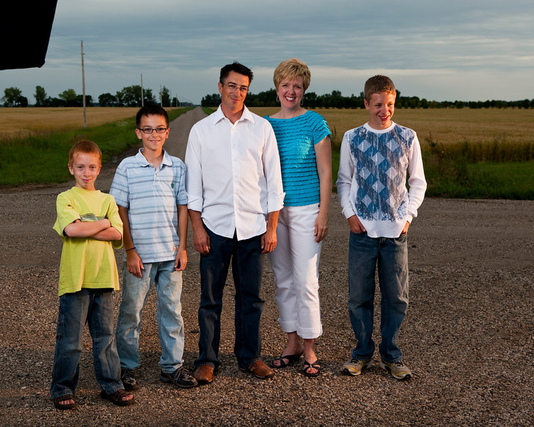 Family photos snatched out of the jaws of mosquitos near Stephen, MN.