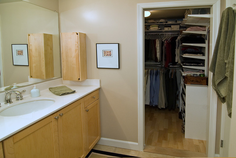 Bathroom and Closet