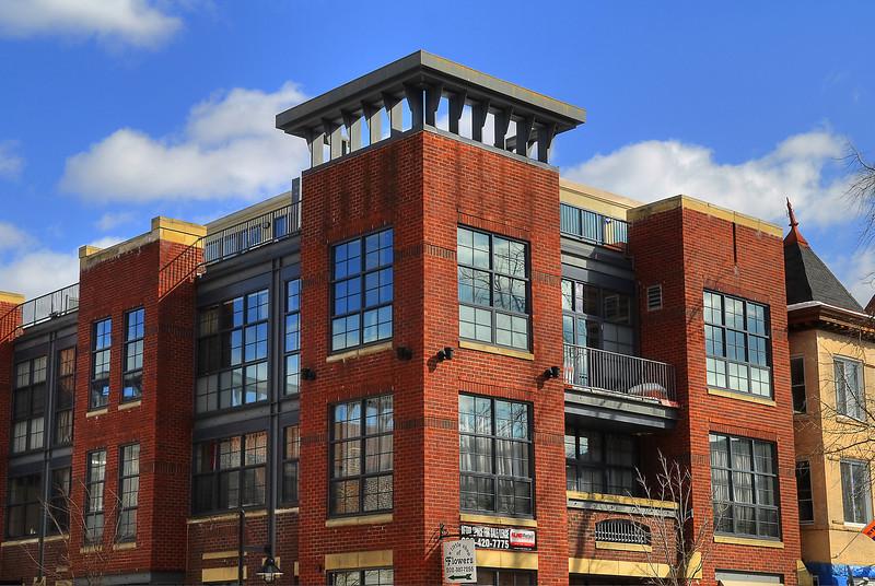 Designer Building in the heart of the Adams Morgan neighborhood.