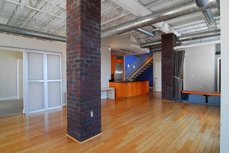 Large Open Floor loft-style floor Plan