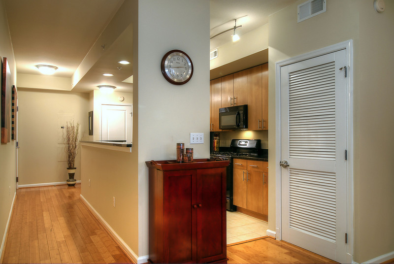 Foyer and Kitchen
