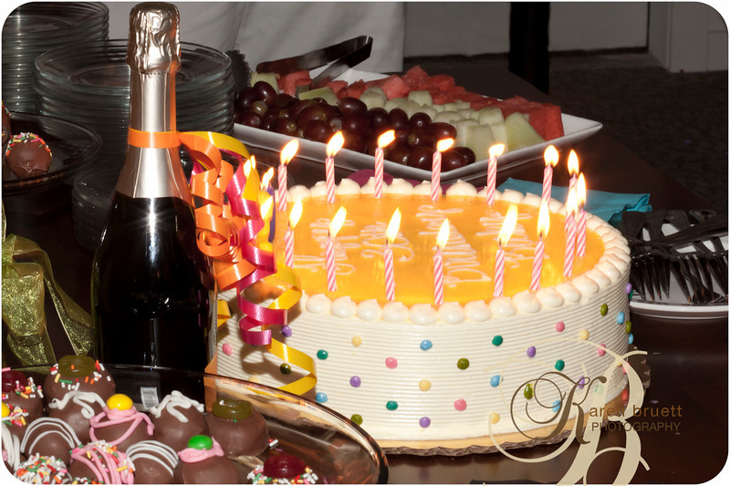 Candid still life from recent birthday party