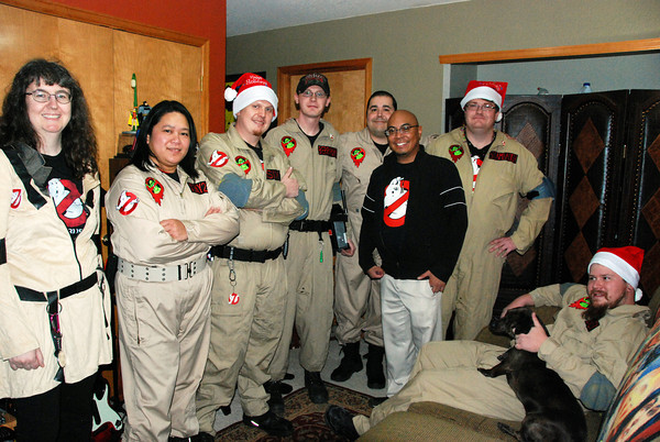 2013 Ghostbusters Holiday Photo Shoot