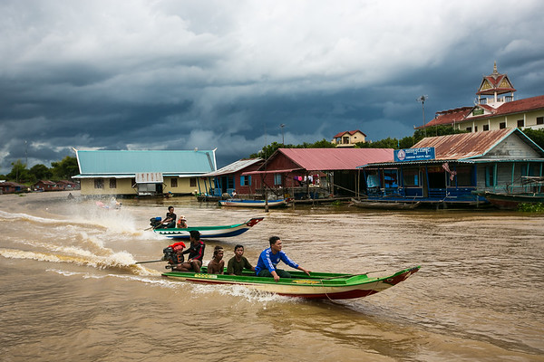 Villages that float along the Tonle Sap Lake and its passageways. www.rusticpathways.com Credit: Rustic Pathways Copyright: © 2015 Rustic Pathways Usage with express permission only.