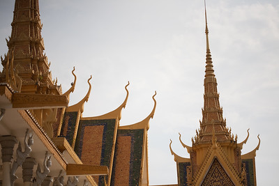 The Royal Palace, in Phnom Penh, Cambodia. www.rusticpathways.com Credit: Rustic Pathways Copyright: © 2015 Rustic Pathways Usage with express permission only.