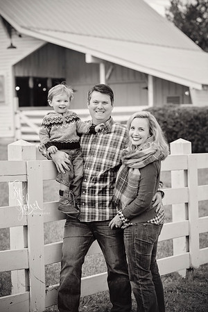 2016 November Holt Family at Oak View Park-2779 BW
