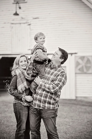 2016 November Holt Family at Oak View Park-2679 BW