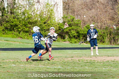 April 11, 2016 JV lacrosse between Einstein and Kennedy High Schools