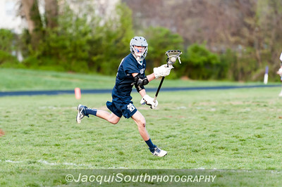 Magruder middie Jimmy Hasemann (10) scores 5 goals as the Colonels defeat the Titans 16-7.