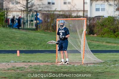 April 11, 2016 varsity lacrosse between Einstein and Kennedy High Schools