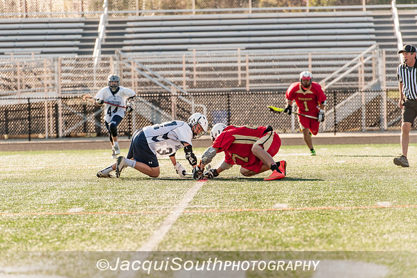 In the 4/16/2016 Magruder v Blair JV Lacrosse game