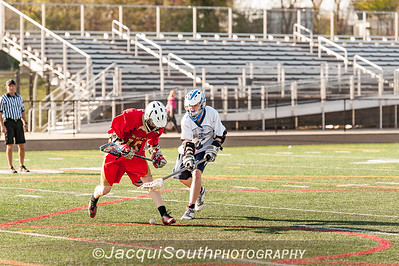 In the 4/16/2016 Magruder v Blair JV Lacrosse game