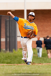In the 5/9/2016 Damascus v Gaithersburg Baseball game Gaithersburg 3rd baseman Jeremy Echavarria.