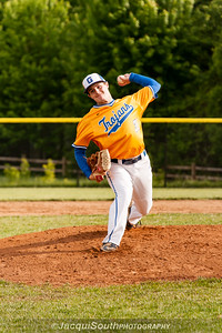 In the 5/9/2016 Damascus v Gaithersburg Baseball game Gaithersburg starting pitcher Brad Sawyer.