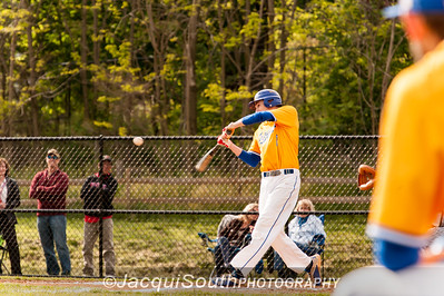 In the 5/9/2016 Damascus v Gaithersburg Baseball game Nick Pantos at bat in the 1st inning.