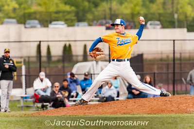 In the 5/9/2016 Damascus v Gaithersburg Baseball game Gaithersburg pitcher Brad Sawyer.
