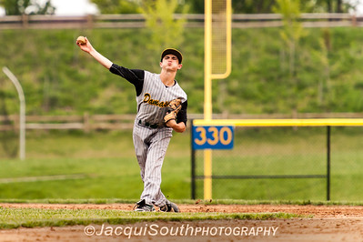 In the 5/9/2016 Damascus v Gaithersburg Baseball game Damascus shortstop Connor Manion.