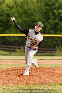 In the 5/9/2016 Damascus v Gaithersburg Baseball game Damascus starting pitcher Ethan Wentzlaff.
