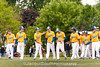 In the 5/9/2016 Damascus v Gaithersburg Baseball game Nick Pantos and the Trojans after defeating Damascus 3-1 in the final regular season game. Playoffs begin Friday May 13th.