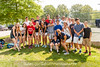 5/27/2016 - Students and coach Nia Cresham (front right from Wootton HS in the Maryland High School Tennis Playoffs at Olney Manor Recreational Park
