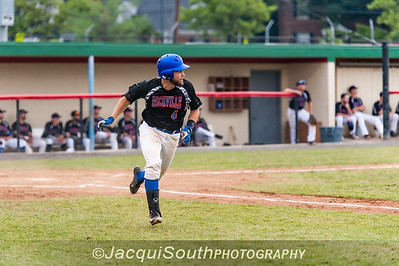 6/27/2016 - Conrad Kovalcik running to 1st base, Rockville Express v Silver Spring/Takoma Park Thunderbolts, ©2016 Jacqui South Photography