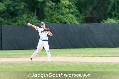 6/27/2016 - Shortstop baseman Nick Vogelmeier, Rockville Express v Silver Spring/Takoma Park Thunderbolts, ©2016 Jacqui South Photography