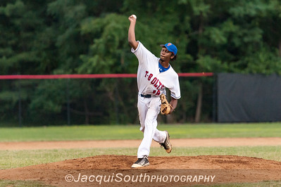 6/27/2016 - starting pitcher William Brown, Rockville Express v Silver Spring/Takoma Park Thunderbolts, ©2016 Jacqui South Photography