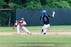6/27/2016 - 2nd baseman Nick Vogelmeier, Rockville Express v Silver Spring/Takoma Park Thunderbolts, ©2016 Jacqui South Photography