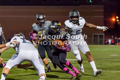 10/7/2016 - Richard Montgomery runningback Kristoper Ricks (21), ©2016 Jacqui South Photography