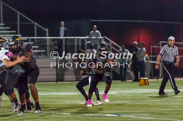 10/7/2016 -Richard Montgomery runningback Tylen Hebron (9), ©2016 Jacqui South Photography