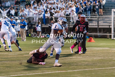 10/14/2016 - Sherwood v Blair Football, ©2016 Jacqui South Photography