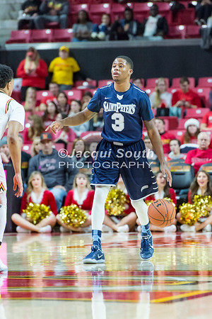 12/10/2016 - St. Peter's v University of Maryland Basketball, ©2016 Jacqui South Photography