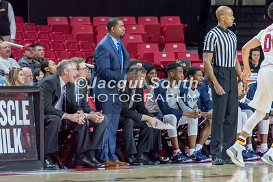 12/10/2016 - Nick Griffin (0) in the St. Peter's v University of Maryland Basketball game at the Xfinity Center, ©2016 Jacqui South Photography