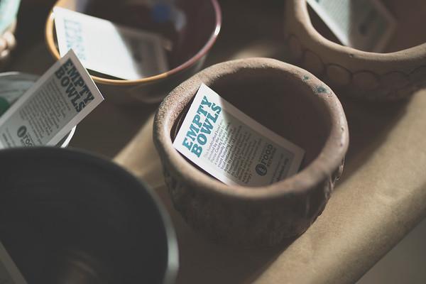 11.18.17 Empty Bowls
