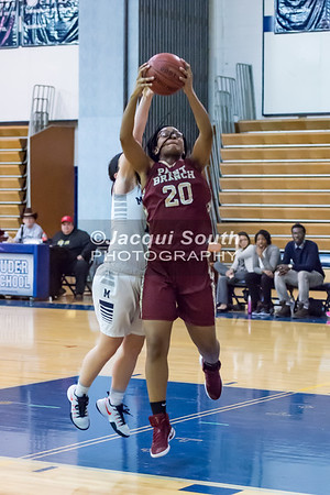 1/19/2017 - Paint Branch v Magruder Girls Basketball, ©2017 Jacqui South Photography