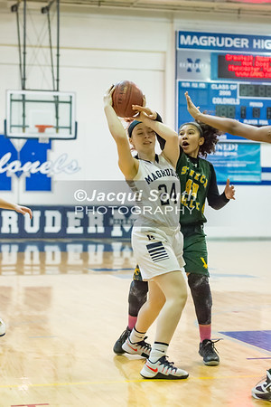 2/14/2017 - Seneca Valley v Magruder Girls Basketball, ©2017 Jacqui South Photography