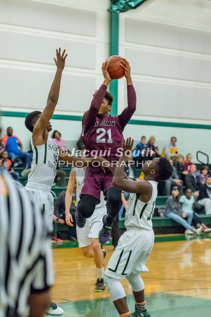 2/21/2017 - St Anselms v Sandy Spring Boys Basketball, ©2017 Jacqui South Photography