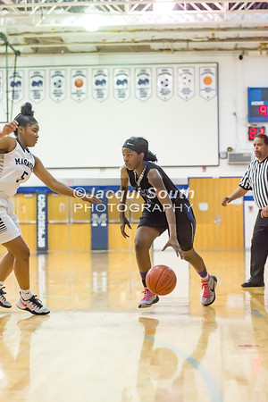 2/24/2017 - Blake v Magruder Girls Basketball, ©2017 Jacqui South Photography