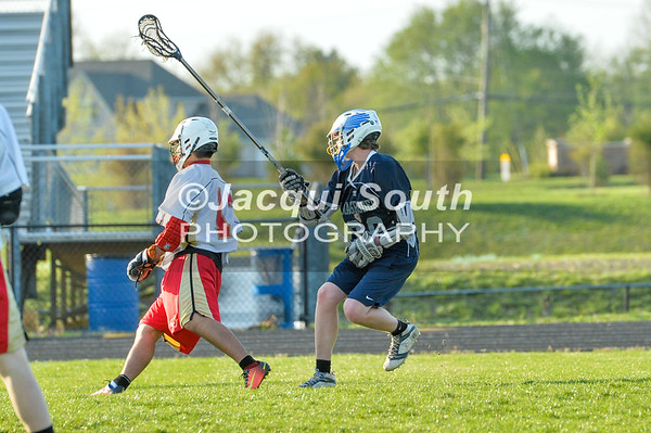 4/18/2017 - Wheaton v Magruder JV Lacrosse, ©2017 Jacqui South Photography
