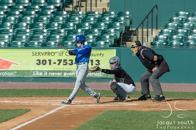4/21/2018 - Patuxent v Leonardtown Baseball, ©2018 Jacqui South Photography