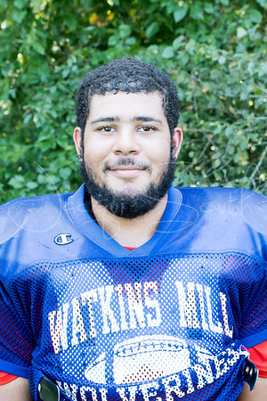 8/22/2017 - Watkins Mill senior left tackle Evan Ogie, Sentinel Football Preview, Photo Credit: Jacqui South