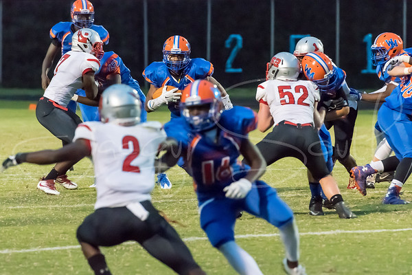 9/1/2017 - Blair v Watkins Mill Football, Photo Credit: Jacqui South