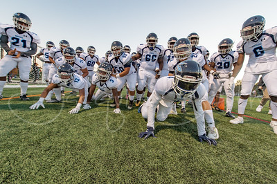 9/28/2017 - Springbrook Blue Deviels roar onto the field, Springbrook v Paint Branch Football, Photo Credit: Jacqui South