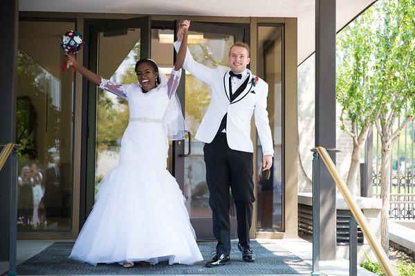 Jaden and Chrishaunna Wedding Day