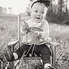 2018 March Etta Rose Ellis 10 months old-182 BW