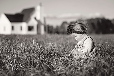 2018 March Etta Rose Ellis 10 months old-558 BW