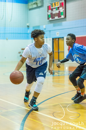 1/16/2018 - Gaithersburg v SGMS Boys Basketball, ©2018 Jacqui South Photography