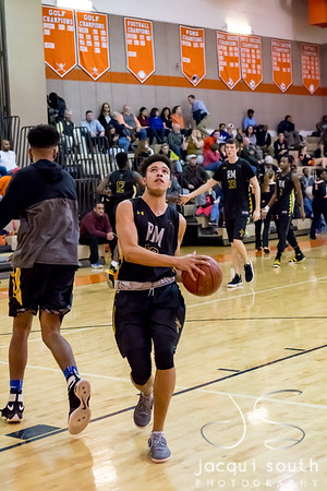 1/26/2018 - senior forward Will Brown (20), Richard Montgomery v Rockville Boys Basketball, ©2018 Jacqui South Photography